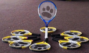 Head Ted and Cub Cadets Racquets