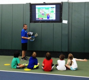 Teddy Tennis Tablet - First Day
