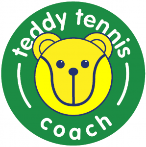 teddy tennis coach logo