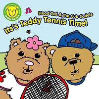Teddy Tennis CD – It's Teddy Tennis Time