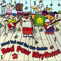 Teddy Tennis CD – Red Paw Rhythms